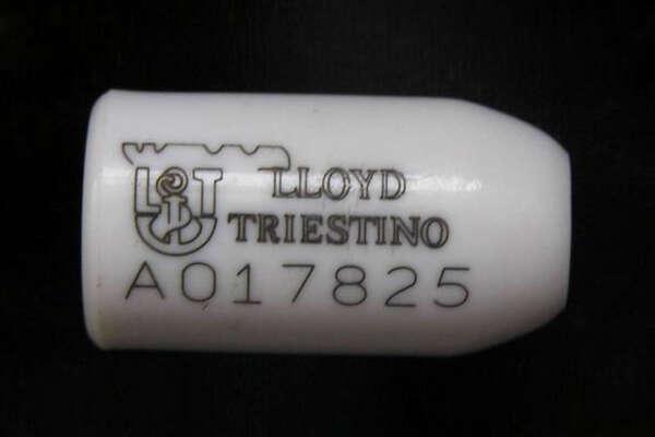 Laser marking on ceramic