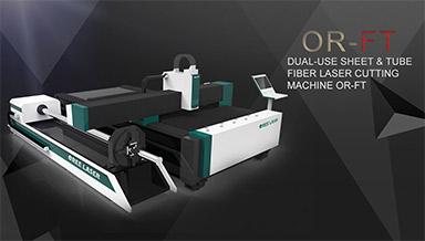Dual-use Sheet & Tube Fiber Laser Cutting Machine OR-FT