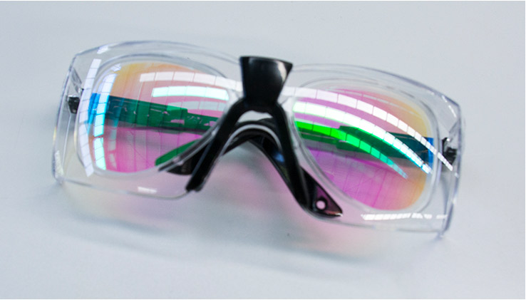 Laser protective glasses