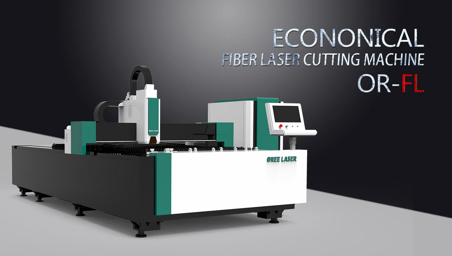 Econonical Fiber Laser Cutting Machine OR-FL