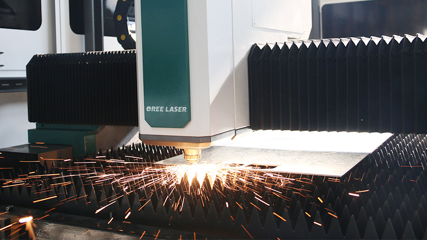 fiber laser cutting machine application