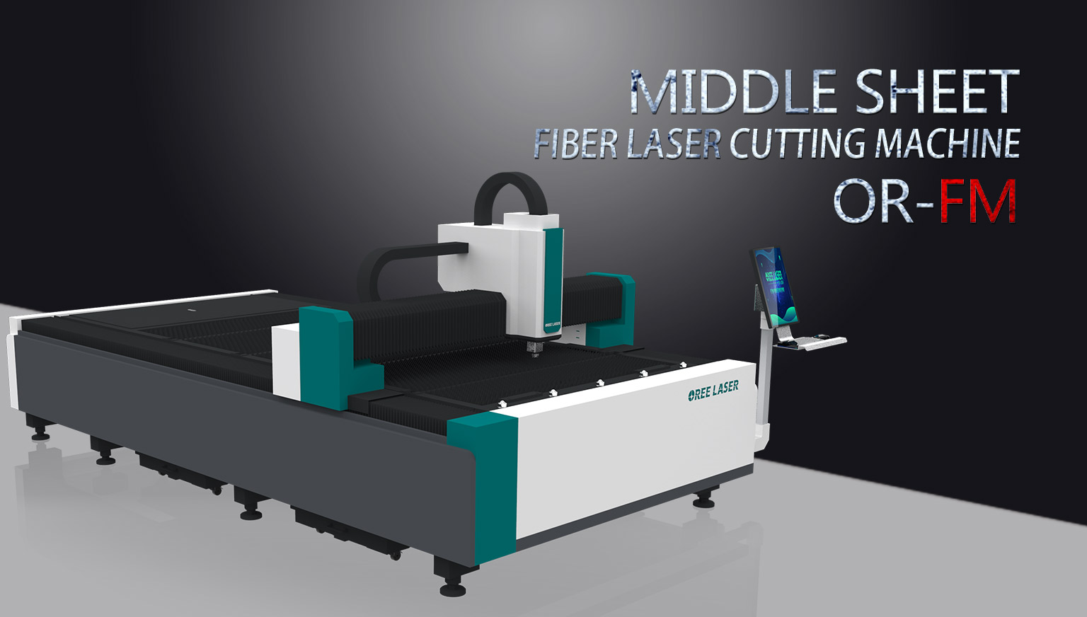Middle sheet Fiber Laser Cutting Machine