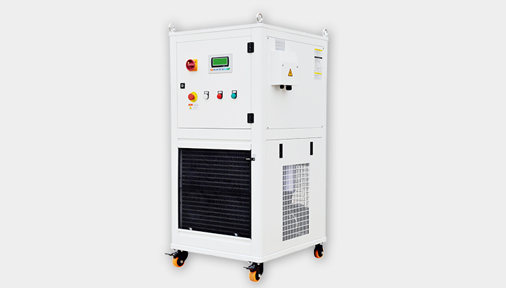 Water chiller of the fiber laser cutting machine