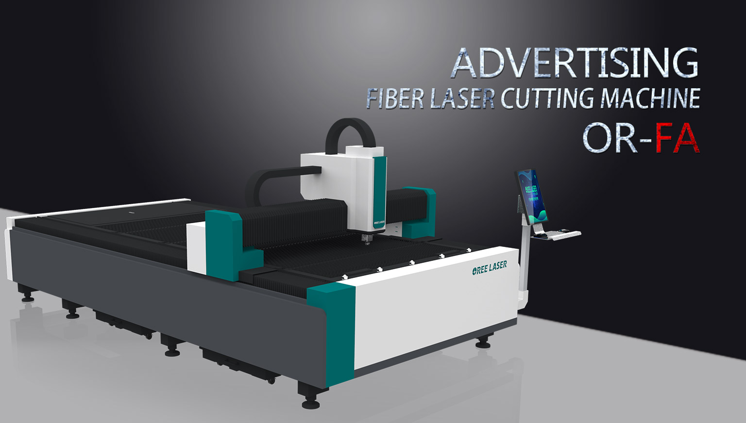 Econonical Fiber Laser Cutting Machine OR-FL