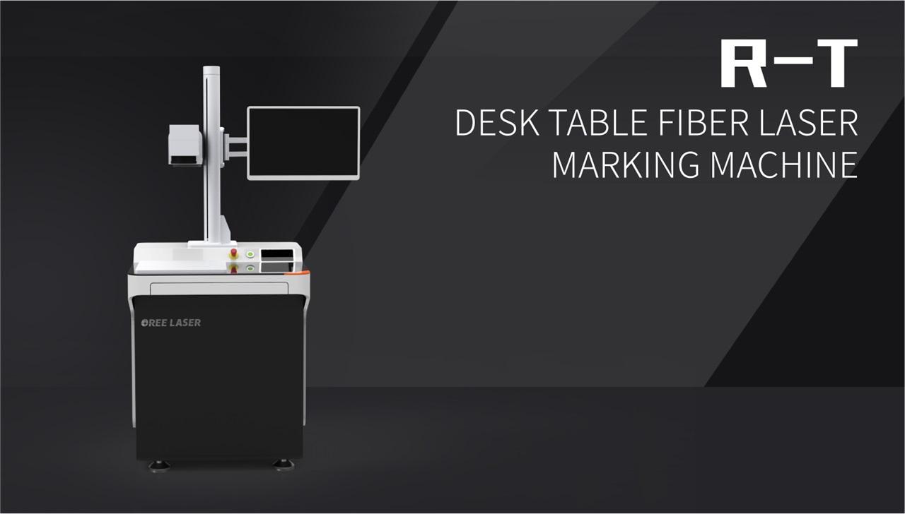 Desk Table Fiber Laser Marking Machine R-T