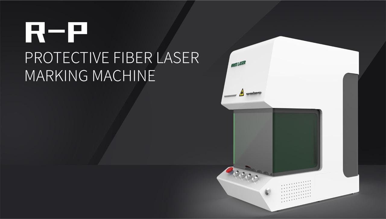 Protective Fiber Laser Marking Machine R-P