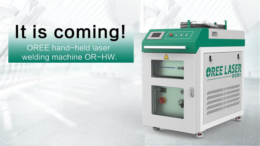 OREE hand-held laser welding machine OR-HW