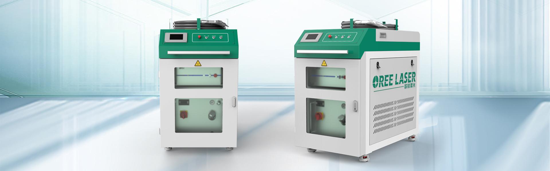 Hand-held laser welding machine