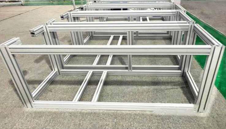Aluminum profile frame