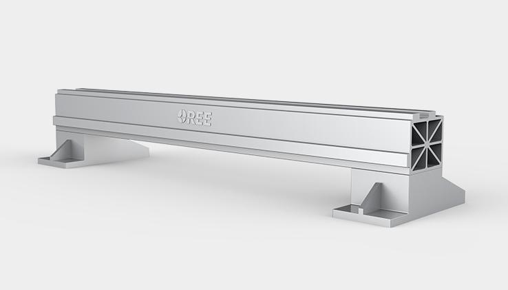 Aviation aluminum beam