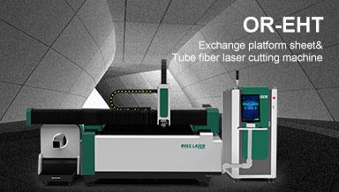 Exchange Table Sheet & Tube Fiber Laser Cutting Machine OR-EHT