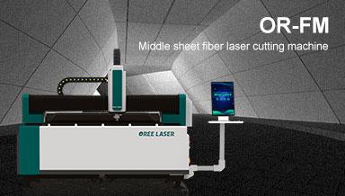 Middle sheet Fiber Laser Cutting Machine