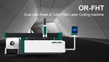 Dual-use Sheet & Tube Fiber Laser Cutting Machine OR-FHT