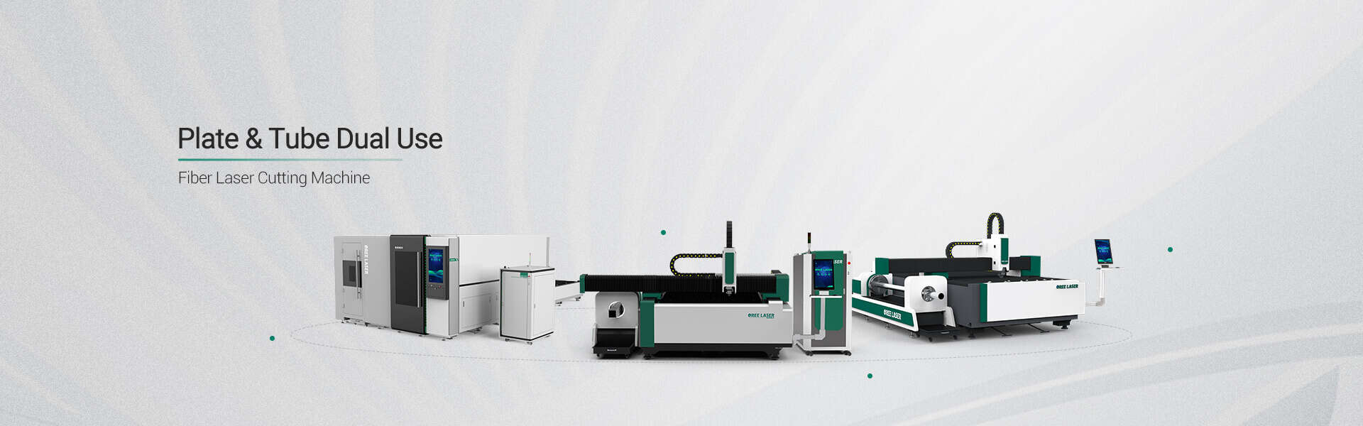 sheet and tubes laser cutting machine