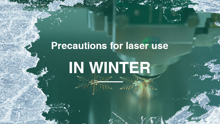 Precautions for laser use in winter