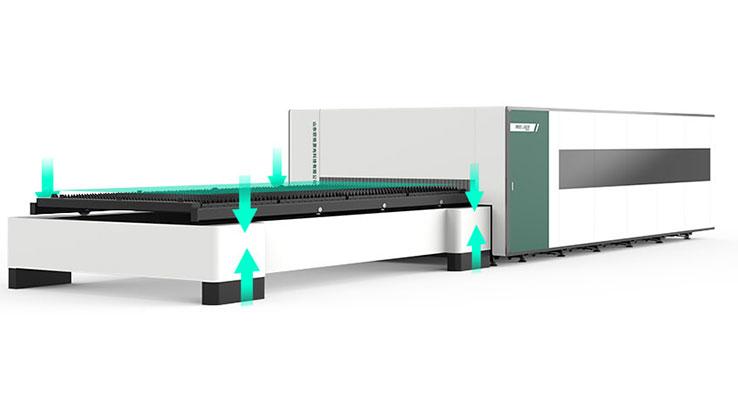 Upgrade hydraulic lifting platform
