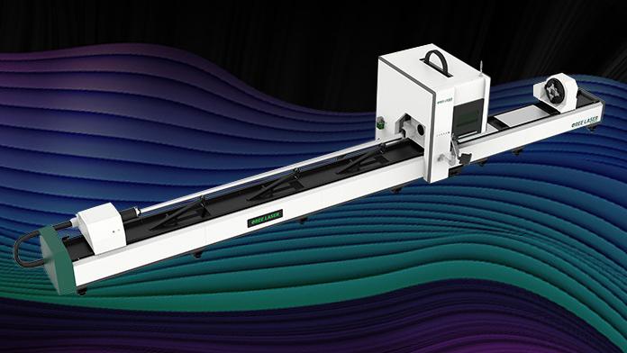 Three-chuck tube fiber laser cutting machine, three-chuck pipe fiber laser cutter, three chucks tube fiber laser cutter