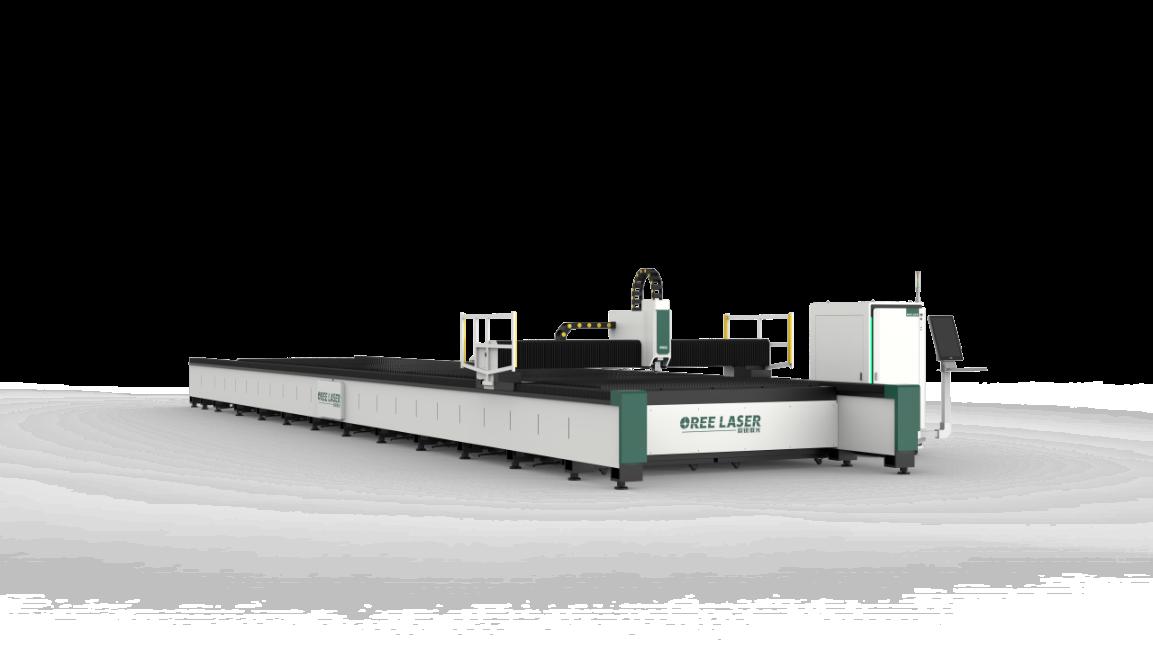 欧锐激光12000W超大幅面板材激光切割机成功交付(图2)